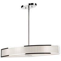 Scarsdale 4 Light 29 inch Chrome Island Light Ceiling Light