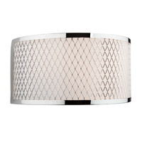Artcraft Lighting Scarsdale 1 Light Wall Bracket in Chrome AC157