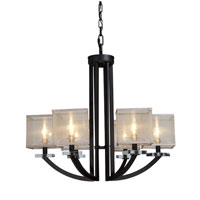 Artcraft Lighting Stowe 6 Light Chandelier in Oil Rubbed Bronze AC1586 photo thumbnail