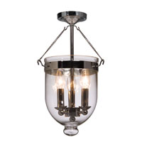 Artcraft Lighting Apothecary 3 Light Pendant in Chrome AC1640CH photo thumbnail
