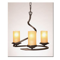 Artcraft Lighting Candlelight 4 Light Chandelette in Oil Rubbed Bronze AC1703AM