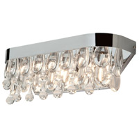 Artcraft Lighting Fantasy 3 Light Bathroom Vanity in Chrome AC17043CH