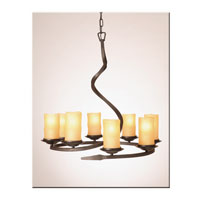 Artcraft Lighting Candlelight 8 Light Chandelier in Oil Rubbed Bronze AC1708AM
