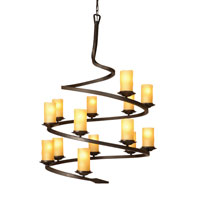 Artcraft Lighting Candlelight 14 Light Chandelier in Oil Rubbed Bronze AC1711AM