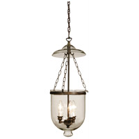 Artcraft Lighting Apothecary 3 Light Pendant in Bronze AC1723