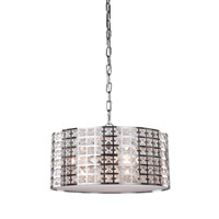 Coventry 3 Light 15 inch Chrome Chandelier Ceiling Light