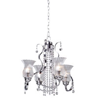 Artcraft Lighting Nob Hill 4 Light Chandelier in Chrome AC1954