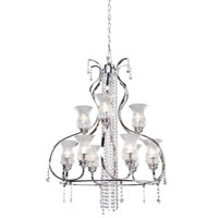 Artcraft Lighting Nob Hill 9 Light Chandelier in Chrome AC1959