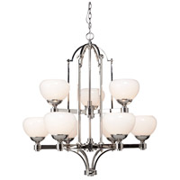 Artcraft Lighting Lincoln 9 Light Chandelier in Chrome AC1989