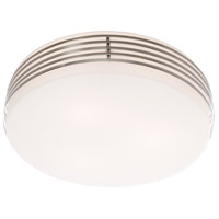 Signature 3 Light 13 inch Chrome Flush Mount Ceiling Light