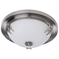Andover 2 Light 14 inch Polished Nickel Flush Mount Ceiling Light