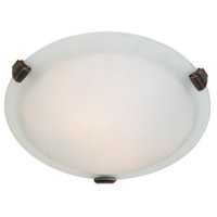 ARTCRAFT Clip 2 Light Flush Mount in Brunito AC2354BU