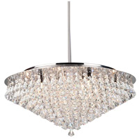 Artcraft Lighting Wilmington 3 Light Chandelier in Chrome AC242