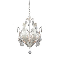Artcraft Lighting Prestige 6 Light Chandelier in Gold Silver Leaf AC2766SV