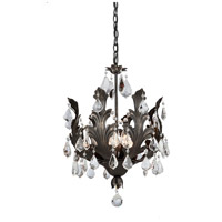 ARTCRAFT Prestige 8 Light Chandelier in Brown AC2768BR