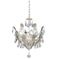 Artcraft Lighting Prestige 8 Light Chandelier in Gold Silver Leaf AC2768SV