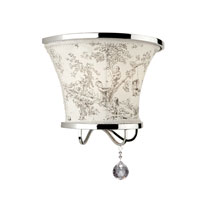 Artcraft Lighting Saint Tropez 1 Light Wall Bracket in Chrome AC2901