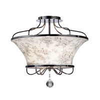 Artcraft Lighting Saint Tropez 4 Light Semi Flush in Chrome AC2904