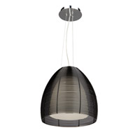 San Jose 1 Light 12 inch Black Pendant Ceiling Light