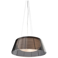 San Jose 3 Light 16 inch Black Pendant Ceiling Light