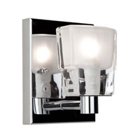Artcraft Lighting Las Vegas 1 Light Bathroom Vanity in Chrome AC321CH photo thumbnail