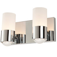 ARTCRAFT Santa Monica 2 Light Bathroom Vanity in Chrome AC3322