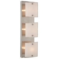 Brentwood 3 Light 18 inch Brushed Nickel Bathroom Vanity Wall Light