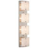 Brentwood 4 Light 24 inch Brushed Nickel Bathroom Vanity Wall Light