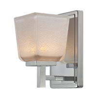 Artcraft AC3371 Freeport 1 Light 5 inch Chrome Bathroom Vanity Wall Light photo thumbnail