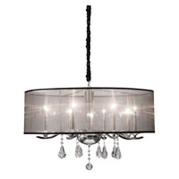Artcraft Lighting Contessa 8 Light Chandelier in Chrome AC369