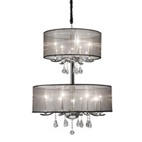 Artcraft Lighting Contessa 12 Light Chandelier in Chrome AC370