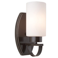 Artcraft Lighting Russell Hill 1 Light Wall Bracket in Oil Rubbed Bronze AC3791OB