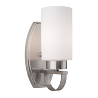Artcraft Lighting Russell Hill 1 Light Wall Bracket in Polished Nickel AC3791PN