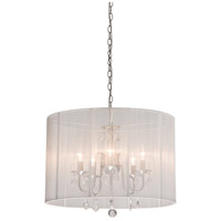 ARTCRAFT Claremont 5 Light Chandelier in White AC381WH photo thumbnail
