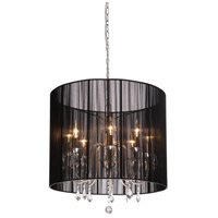 Artcraft Lighting Claremont 8 Light Chandelier in Polished Nickel AC382BK