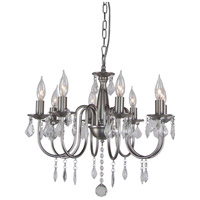 Artcraft Lighting Claremont 8 Light Chandelier in Polished Nickel AC388