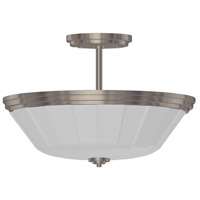 ARTCRAFT Raleigh 2 Light Semi Flush in Chrome AC4375CH