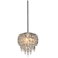 Malibu 3 Light 11 inch Chrome Pendant Ceiling Light