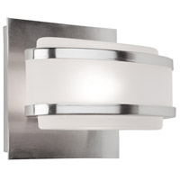 Boulevard 1 Light 6 inch Brushed Nickel Bathroom Vanity Wall Light
