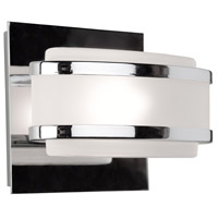 Boulevard 1 Light 6 inch Chrome Bathroom Vanity Wall Light