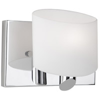 Artcraft Lighting Courtleigh 1 Light Bathroom Vanity in Chrome AC5521CH