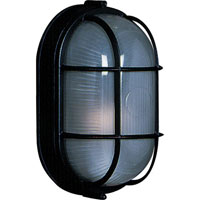 Artcraft Lighting Marine 1 Light Outdoor Wall in Black AC5670BK