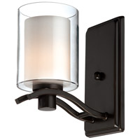 ARTCRAFT Andover 1 Light Wall Bracket in Oil Rubbed Bronze AC5731OB
