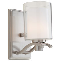 Artcraft AC5731PN Andover 1 Light 4 inch Polished Nickel Wall Bracket Wall Light photo thumbnail