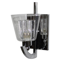 Artcraft Lighting Elgin 1 Light Wall Bracket in Chrome AC5791CH photo thumbnail