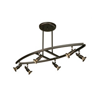 Artcraft Lighting Shuttle 6 Light Tracks in Oil Rubbed Bronze AC5836OB