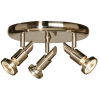 Shuttle 3 Light Brushed Nickel Track Light Ceiling Light