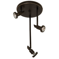 Artcraft AC5839OB Shuttle 3 Light Oil Rubbed Bronze Track Light Ceiling Light photo thumbnail