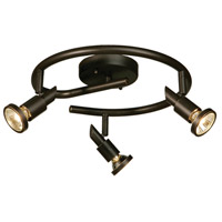Artcraft Lighting Shuttle 3 Light Tracks in Oil Rubbed Bronze AC5840OB