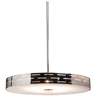 Seattle 4 Light 16 inch Chrome Pendant Ceiling Light